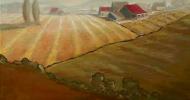 Clatter Valley   Bob Ferrucci Art   Contemporary American Folk Art