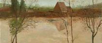 landscape prints, folk art, american folk art, landscapes