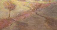 country art, folk art, american folk art, landscapes