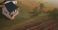 heartland landscape, country artwork, folk art, american folk art, landscapes, barn art,