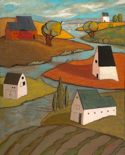 Pathway River American Folk ARt